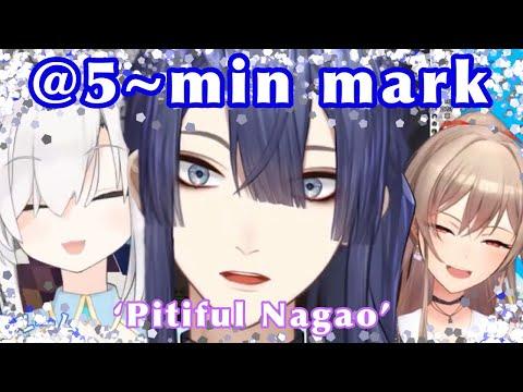 Nagao and his 2 part-timers [Nagao Kei/Ars Almal/Furen E. Lustario/Nijisanji] (eng sub)