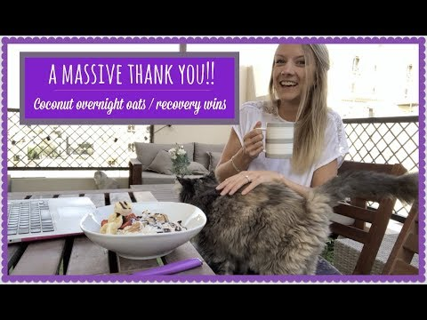 MY ANOREXIA RECOVERY // A massive thank you // recovery wins