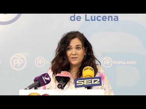 VÍDEO: El PP de Lucena pide un paquete de medidas específicas de apoyo al sector de los feriantes