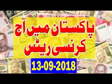 Open Market Currency Exchange Rates In Pakistan [13-09-2018 ] Currency Exchange Rates   Forex