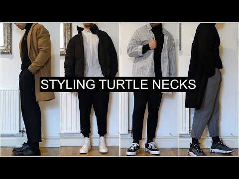 How To Style Turtle Necks | 7 OUTFIT IDEAS | Men's Fashion | Daniel Simmons