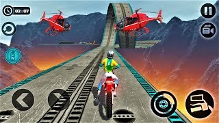Impossible Moto Bike Tracks 3D 2018-Best Android Gameplay HD #18