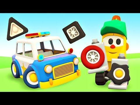 Учим фигуры и цвета - Машинки приехали в магазин Грузика - Мультики для детей