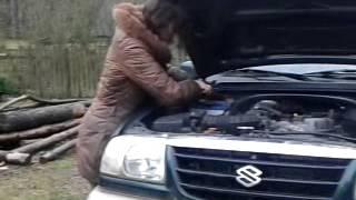 Женщина и машина/Ремонт машины
