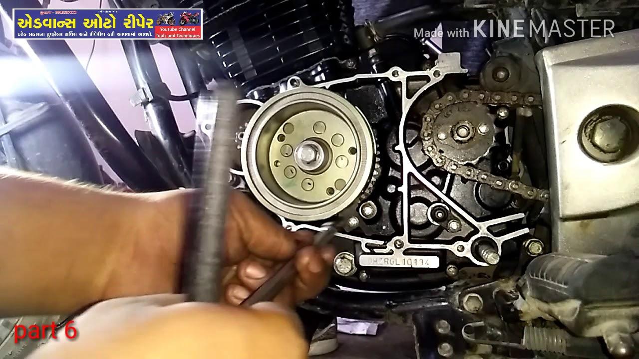 part 6 Bajaj Pulsar magnet and one way kit fitting