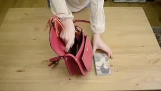 Видео обзор итальянской сумки кроссбоди VP3600 TIARA для магазина BorsaToscana.ru
