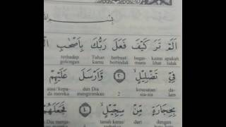 Surah AL fil, Alam Tara Kai