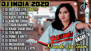 Dj Tik Tok Terbaru 2020 | Dj India Dil Laga Liya Full Album Remix 2020 Full Bass Viral Enak