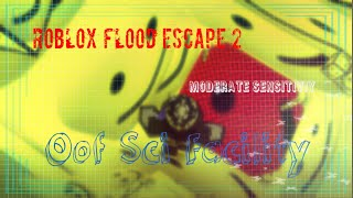 ROBLOX Flood Escape 2 - Dark Sci Facility Moderate Sensitivity! (1600 DPI) [Im Back!]