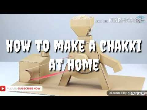 How to make a chakki easy at home