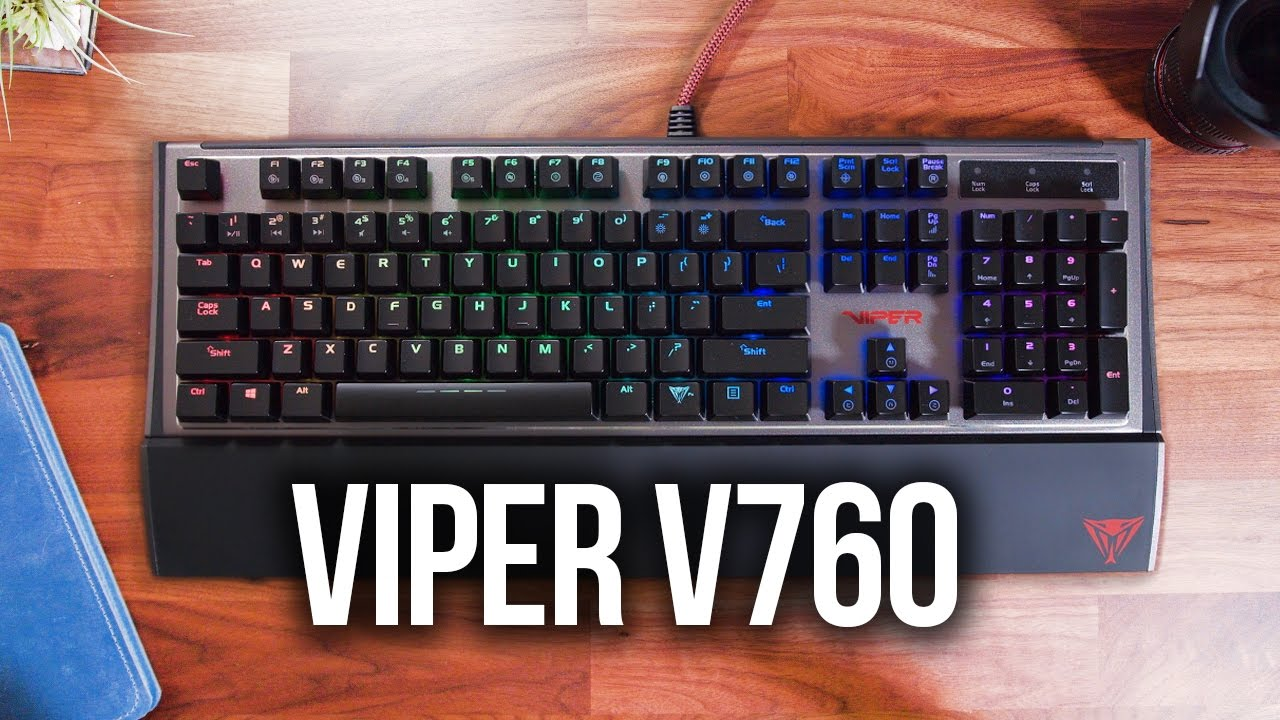 50db0a08232 Patriot Viper V760 Gaming Keyboard Review - YouTube