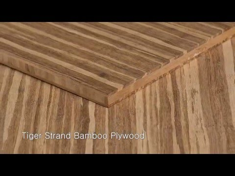FSC-Certified Woven Bamboo Plywood | Ambient® Bamboo Floors