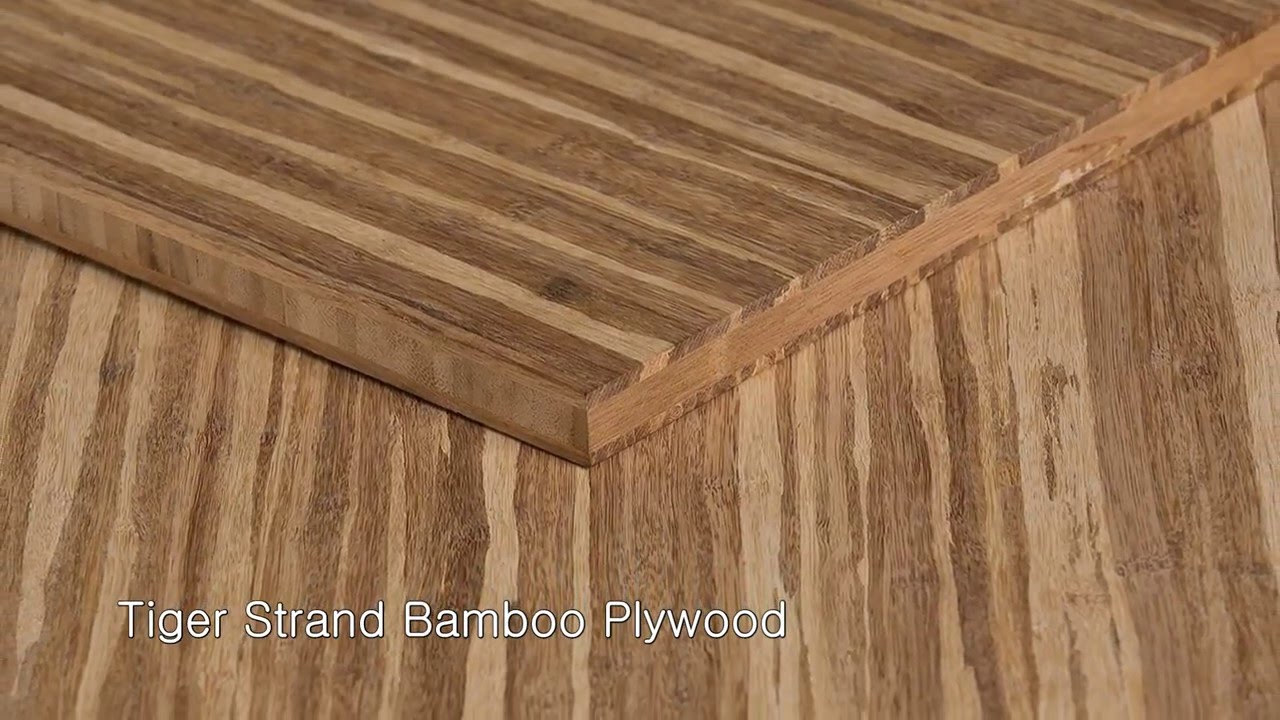 Ambient Bamboo Plywood For Cabinets, Countertops, And Wall Panels