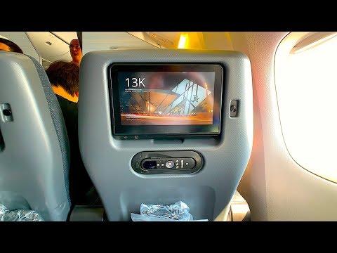 PREMIUM ECONOMY Air Canada Boeing 777-200LR Review | Hong Kong - Toronto Pearson AC16