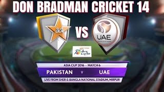 PAKISTAN VS U.A.E - MICROMAX ASIA CUP T20 - MATCH 6 HIGHLIGHTS - HD