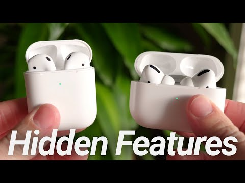 AirPods & AirPods Pro Hidden Features! 10 Apple Secrets