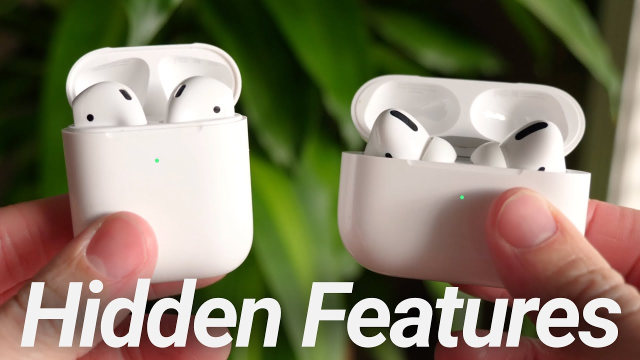 Airpods  U0026 Airpods Pro Hidden Features  10 Apple Secrets