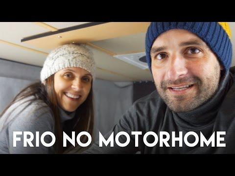 ENFRENTANDO O FRIO NO MOTORHOME | VIAGEM | Romulo e Mirella | T4. Ep.92