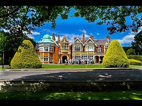 Walking Around Bletchley Park, Milton Keynes, England
