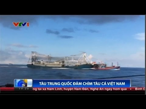 Vietnam Broadcasts Video of Chinese Ship Ramming Boat