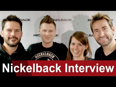 Nickelback - Chad was 'a british woman' for 2 weeks - ROCK ANTENNE Interview