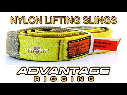 Nylon Lifting Slings - Advantage Rigging