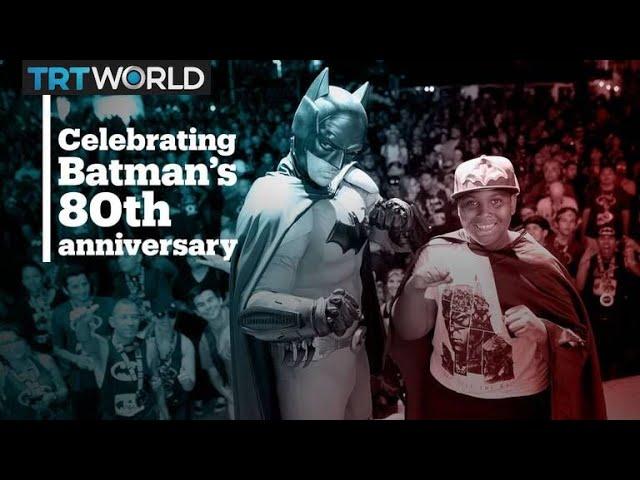 People around the world celebrate the 80th anniversary of Batman