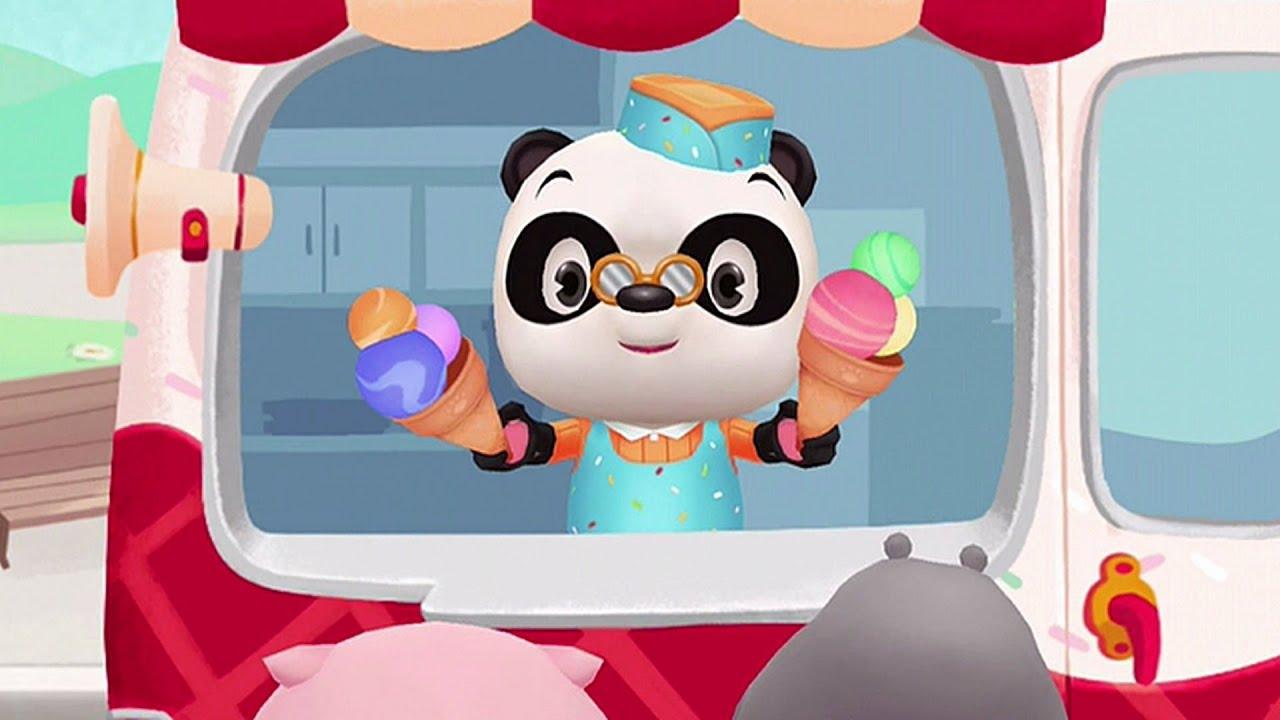 dr pandas eiswagen spiel f r kinder android ipad iphone kindle fire app youtube. Black Bedroom Furniture Sets. Home Design Ideas