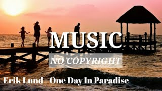 Gambar cover Erik Lund - One Day In Paradise (Music No Copyright)
