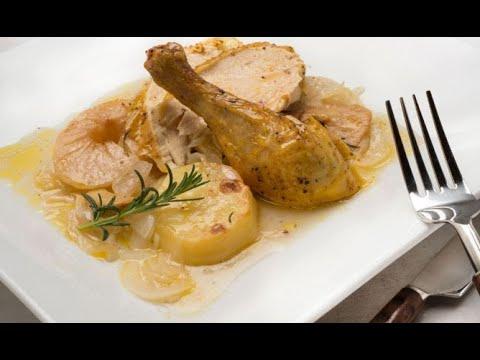 Receta de pollo asado - Karlos Arguiñano - YouTube