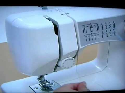 Tutorial For Brother LS 40 Sewing Machine Threading The Upper Custom How To Thread A Brother Ls2000 Sewing Machine