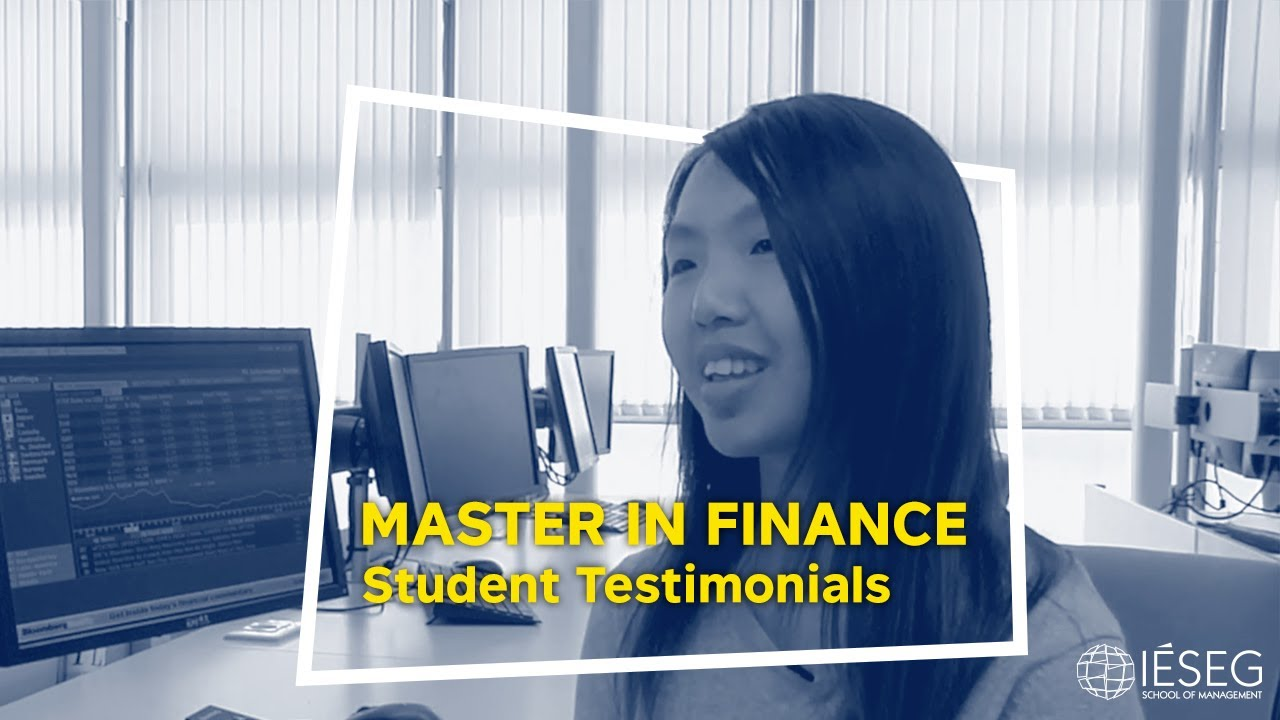 Master of Science in Finance - IÉSEG