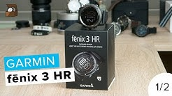 GARMIN FENIX 3 HR // Testbericht (Teil 1/2) // Deutsch // 4K