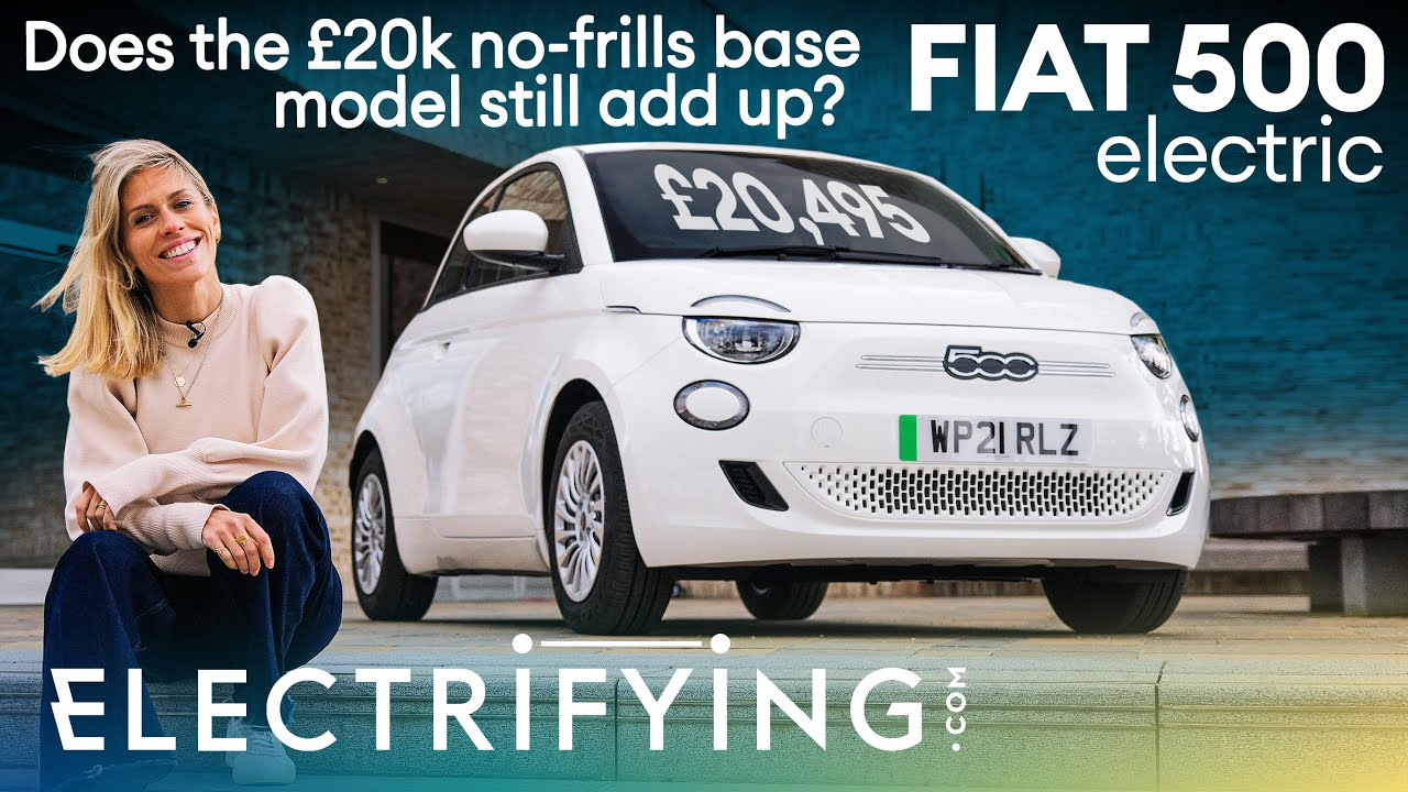 Fiat 500e Electric 2021 review - Does the basic £20k Action model still add up? / Electrifying
