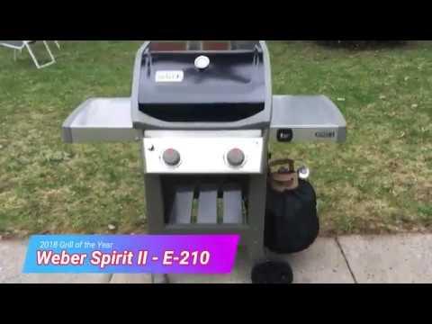 Flot Weber Spirit II E-210 Grill Review - YouTube DM-65