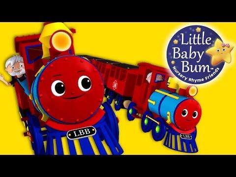 Train Song | Nursery Rhymes | Original Song By LittleBabyBum!