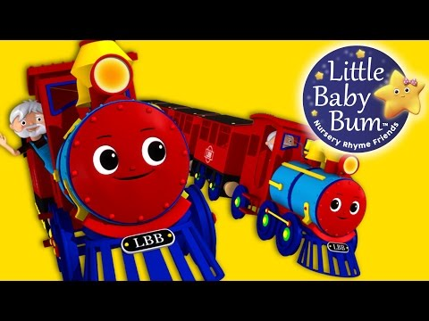 Thumbnail: Train Song | Nursery Rhymes | Original Song By LittleBabyBum!