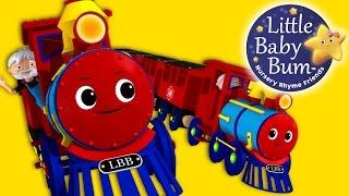 Поїзд Пісня | Дитячі Віршики | LittleBabyBum Авторська Пісня!