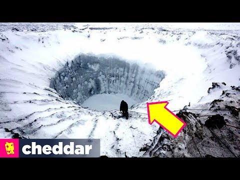 The Exploding Craters of Siberia - Cheddar Explores