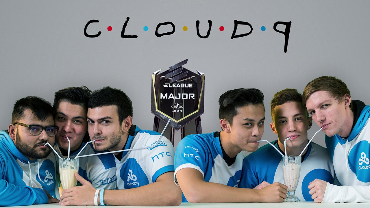 Cloud9 Team Poster Friends