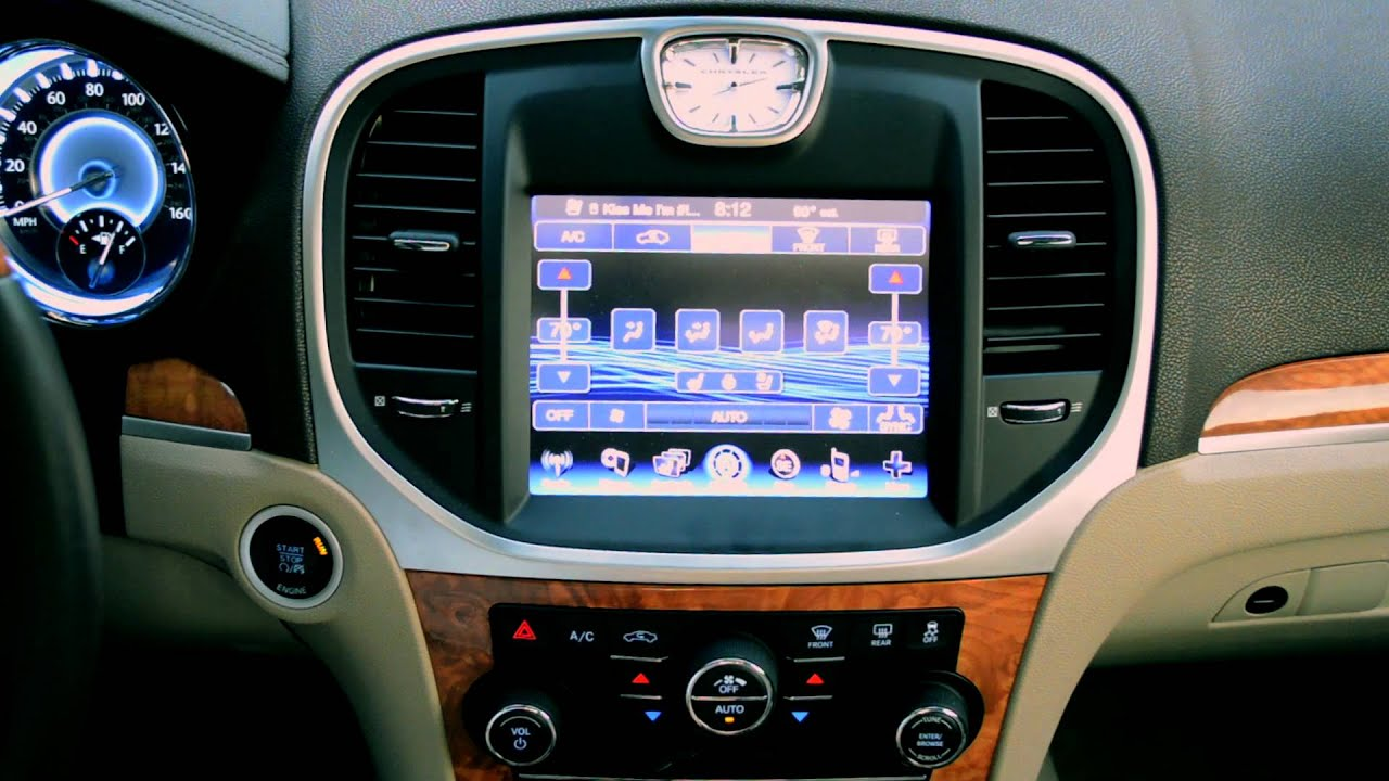 technology review 2012 chrysler 300c awd hemi uconnect rh youtube com Chrysler Uconnect Replacements Chrysler Uconnect Support