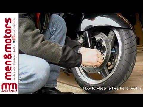 How To Measure Tyre Tread Depth?