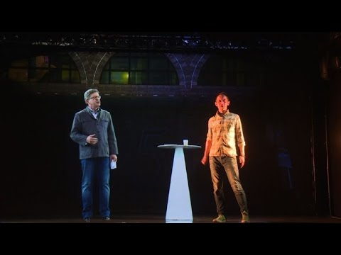 Melenchon here, Melenchon there - France's hologram candidate