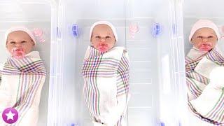 ¡NUEVO EN MI CANAL! Adopto trillizas : Muñecas Bebé Juguetes Baby Dolls thumbnail