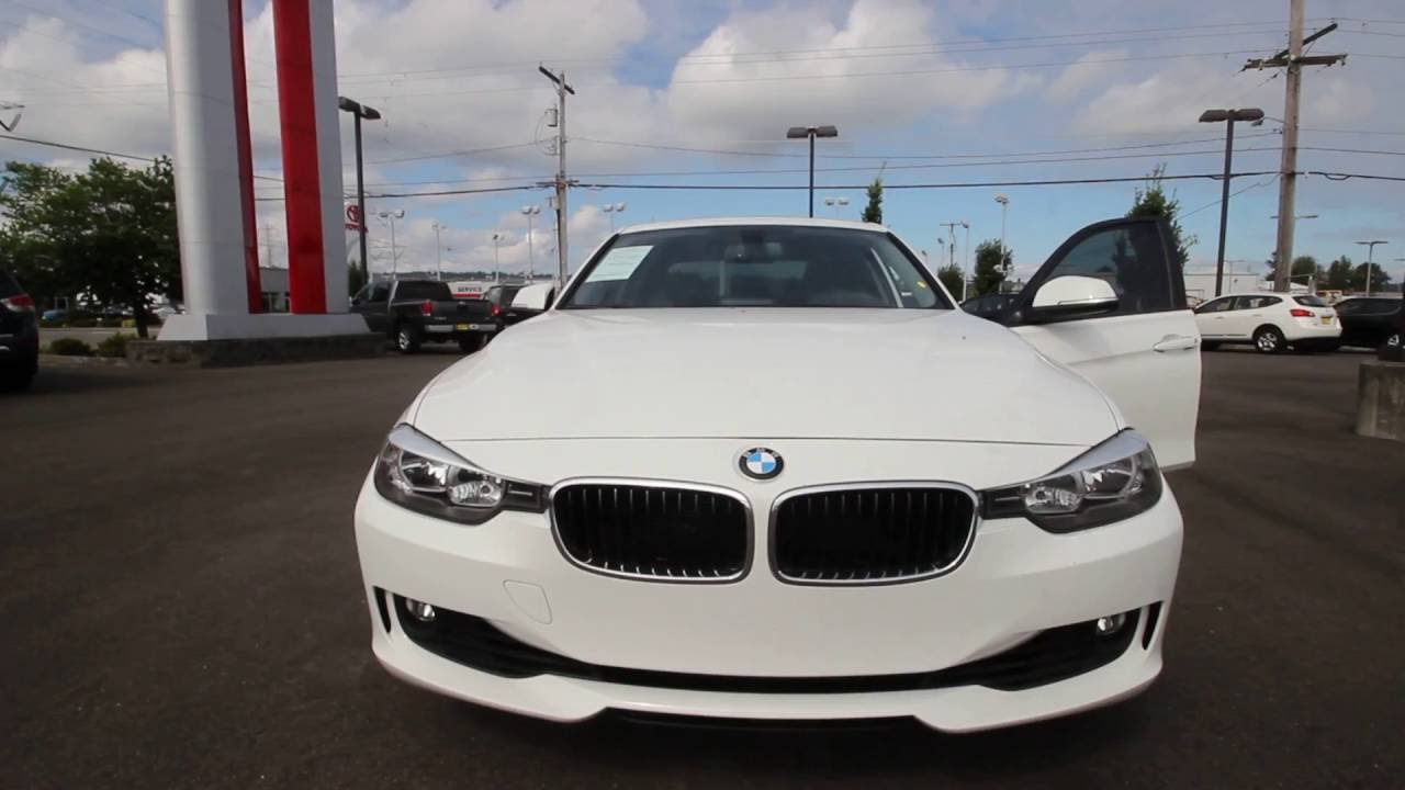 BMW I White DF Kent Tacoma YouTube - 2013 bmw 325i