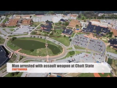 Man arrested with assault weapon at Chattanooga State Community College