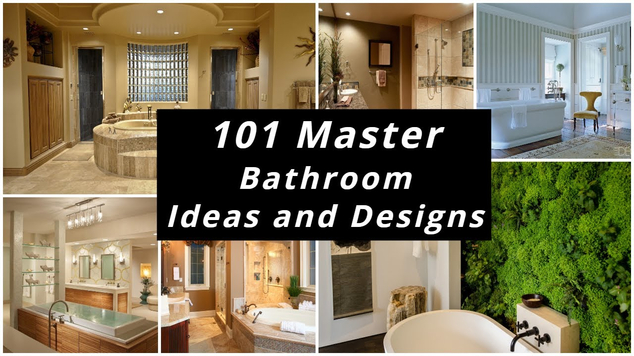 101 Master Bathroom Ideas And Designs Youtube