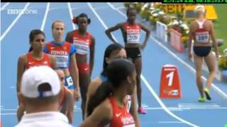 Moscow 800M - Women - Final - IAAF World Championships