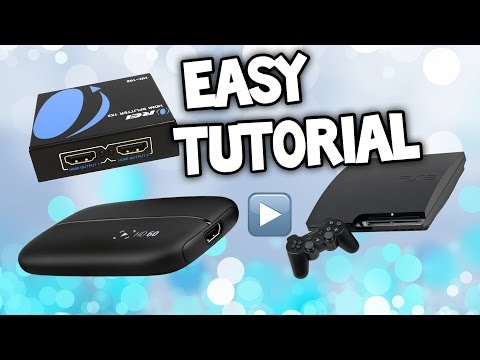 HOW TO USE ELGATO HD 60 WITH PS3 - Elgato 60 Setup PS3 HDMI Splitter - Elgato PS3 Tutorial