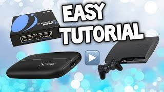 HOW TO USE ELGATO HD 60 WITH PS3 - Elgato 60 Setup PS3 HDMI Splitter - Elgato PS3 Tutorial